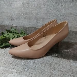 """Classic Covington nude kitten 2"""" heels"""